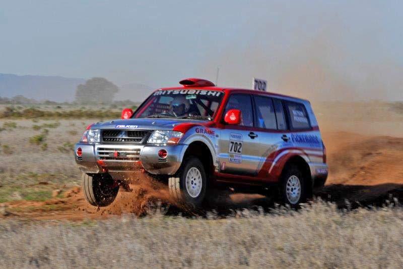 DNA™ Virtual Chrome™ - on Mitsubishi Rally Car