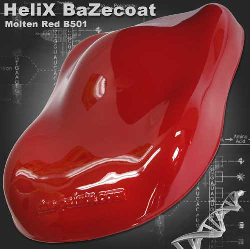 HeliX BaZecoat - Molten Red