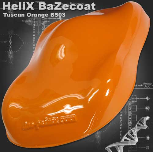 HeliX BaZecoat - Tuscan Orange