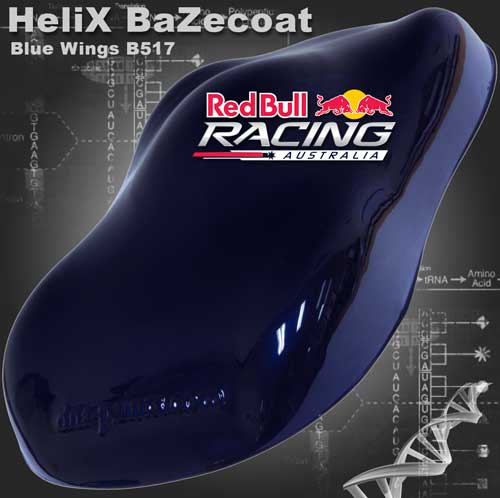 HeliX BaZecoat - Blue Wings