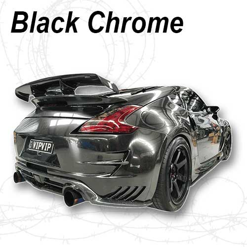 Paint Car Chrome Black