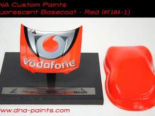 Fluorescent Red Bonnet/Hood