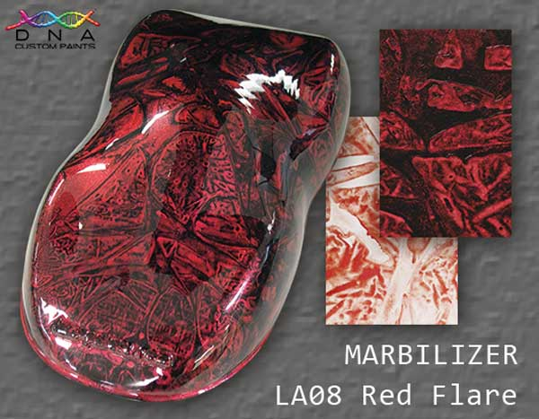 "Marbilizer LA08 ""Red Flare"""