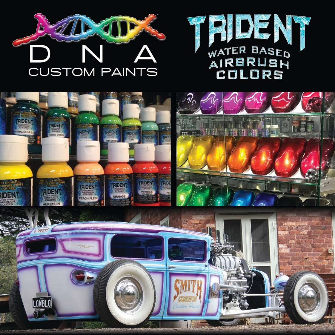 Dna Custom Paints Dna Custom Paints Candy Paints Airbrush Paints Special Effects
